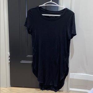 American Eagle High Low Black Soft & Sexy T-Shirt